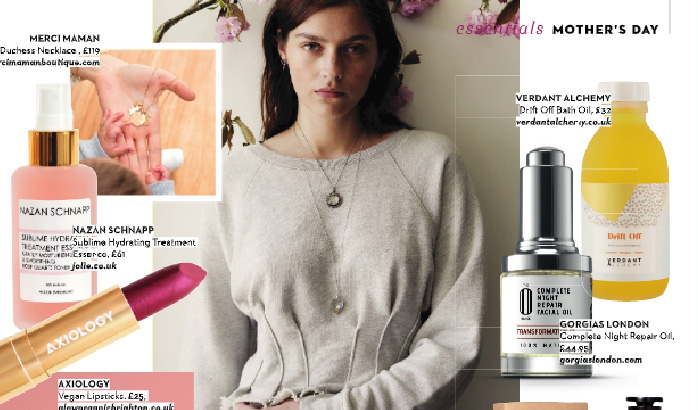 Transformation Oil featured in 'Absolutely Mama'
