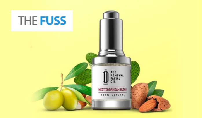 Mediterranean Blend Facial Oil review in 'The Fuss'