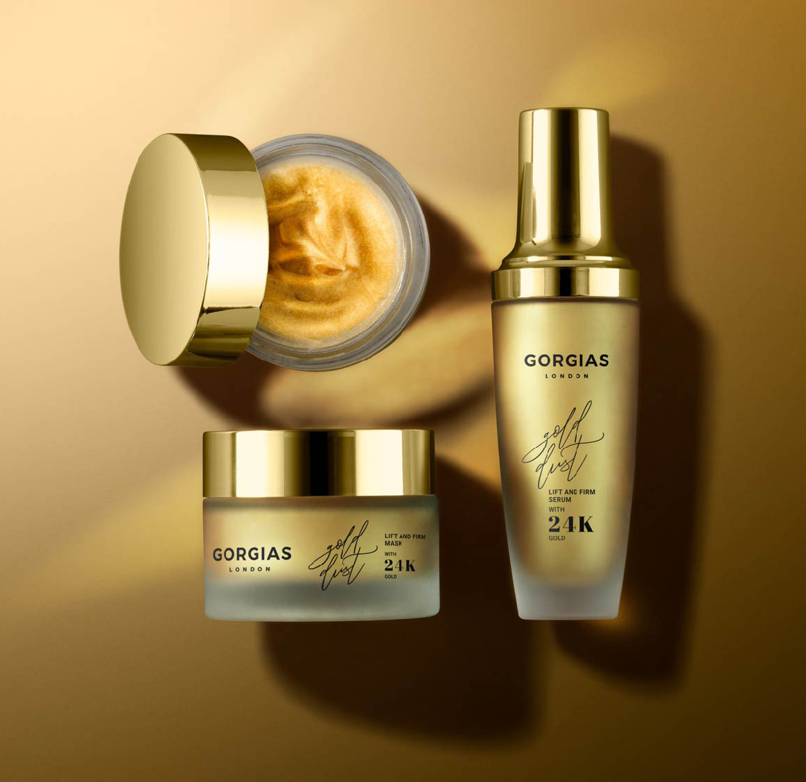 24K Gold Moisturizers and Gold Infused Skin Care Products